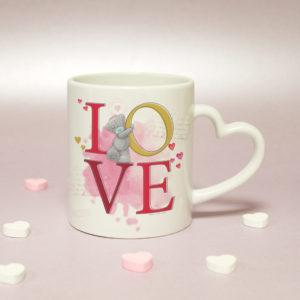 Me To You LOVE Heart Handled Mug