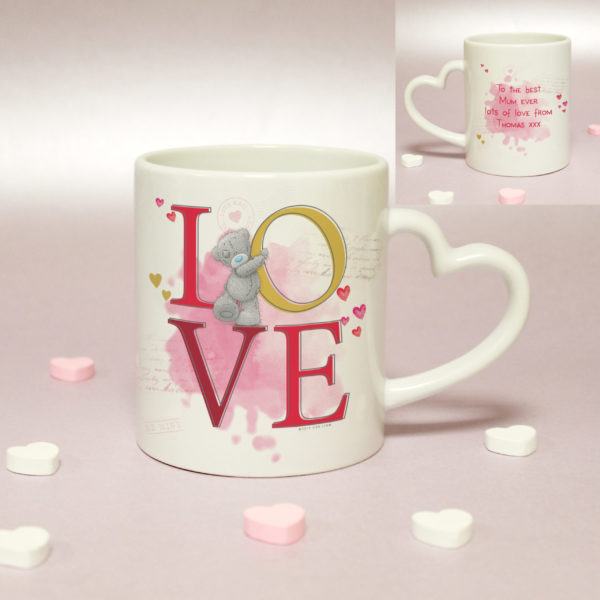 Me To You LOVE Heart Handled Mug