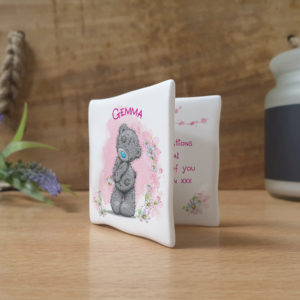 Me To You Lovely As A Flower Message Card