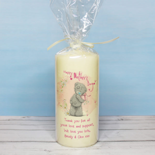 Me To You Mother's Day Pillar Candle