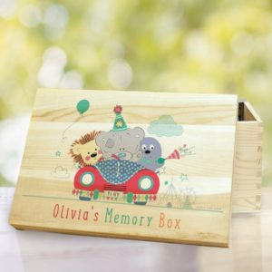 Tiny Tatty Teddy Little Circus Wooden Memory Box
