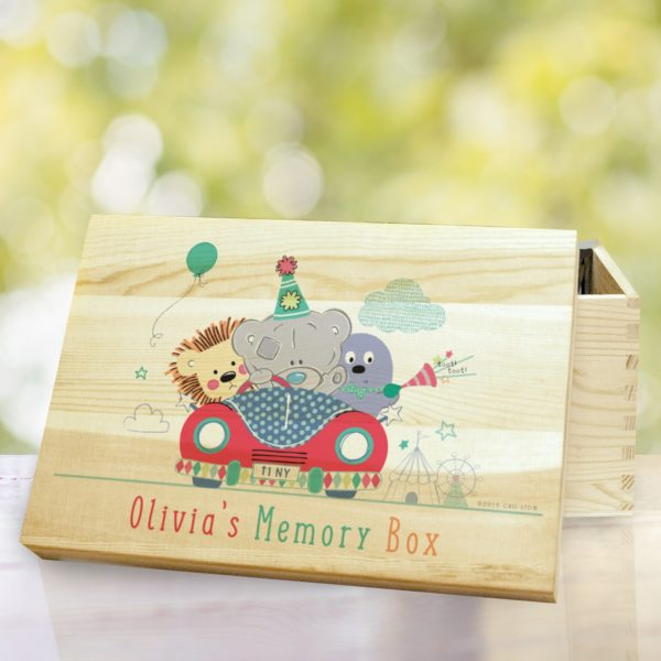 Tiny Tatty Teddy Little Circus Wooden Memory Box