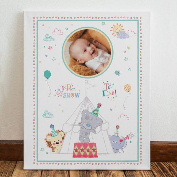 Tiny Tatty Teddy Little Circus Photo Canvas