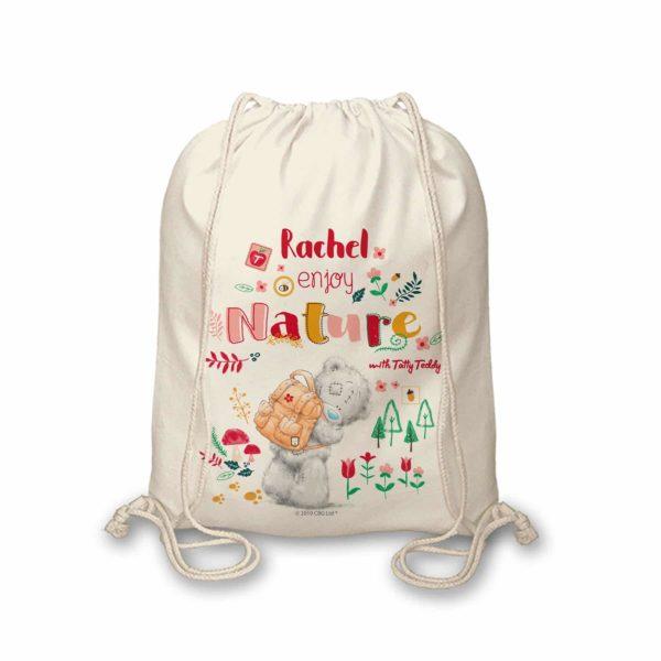 Me To You Enjoy Nature Drawstring Bag
