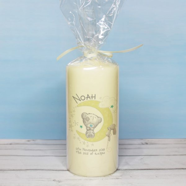 Me To You Baby & Me Pillar Candle