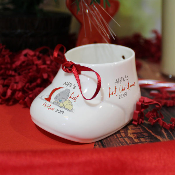 Me To You 1st Christmas Bootie & Bauble Set