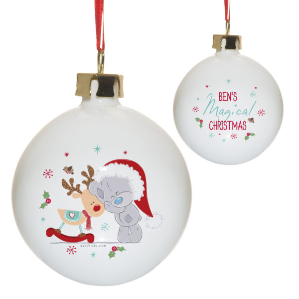 Me To You Christmas Cuddles Bauble