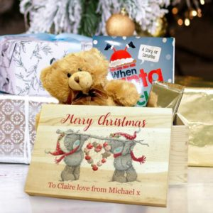 Me To You Christmas Heart Memory Box