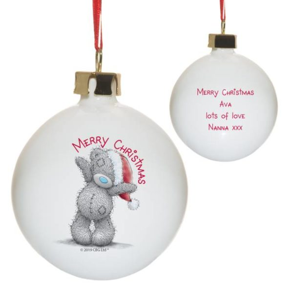 Me To You Merry Christmas Bauble