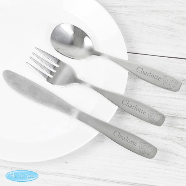 Tiny Tatty Teddy 3 Piece Cutlery Set