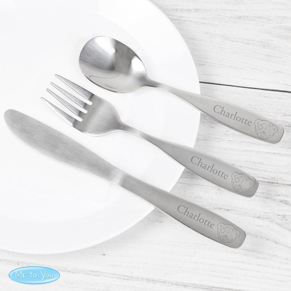 Tiny Tatty Teddy 3 Piece Cutlery Set