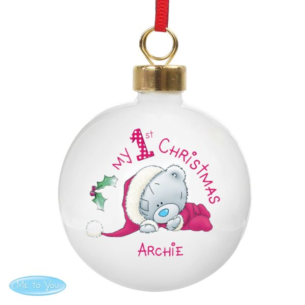 Me To You My 1st Christmas Bauble