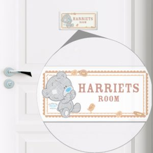 Tiny Tatty Teddy Door Plaque