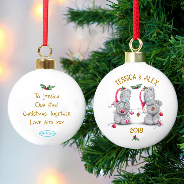Me to You Christmas Couple's Bauble