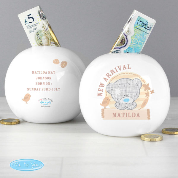 Tiny Tatty Teddy Money Box