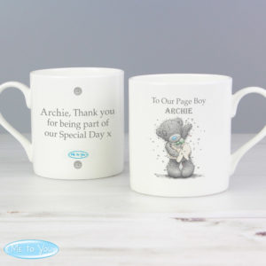Me To You Male Wedding Balmoral Mug