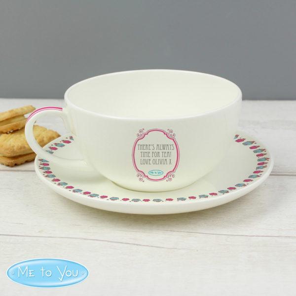 Me To You Cupcake Teacup & Saucer