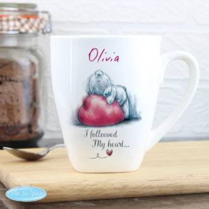 Me To You Heart Latte Mug