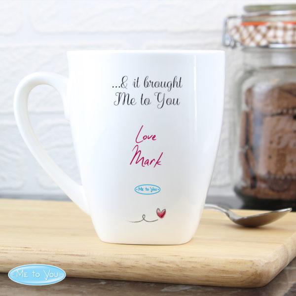 Me To You Heart Latte Mug