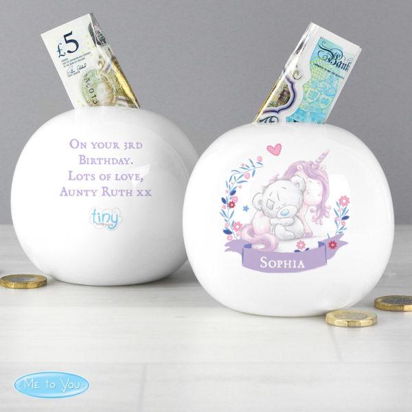 Tiny Tatty Teddy Unicorn Money Box