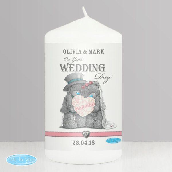Me To You Wedding Couple Candle