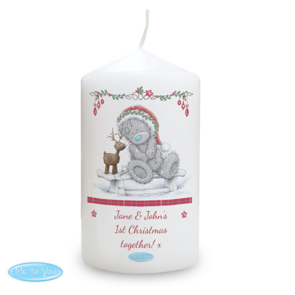 Me To You Reindeer Candle