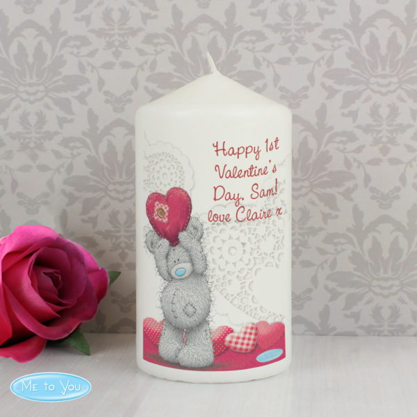 Me To You Heart Candle