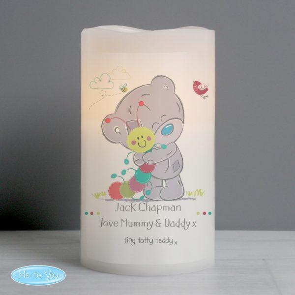 Tiny Tatty Teddy Cuddle Bug Nightlight LED Candle