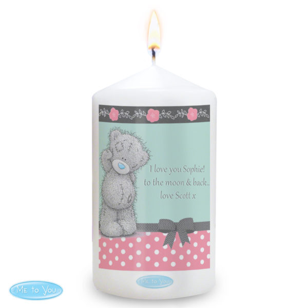 Me To You Pastel Belle Candle