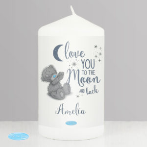 Me to You 'Love You to the Moon and Back' Pillar Candle