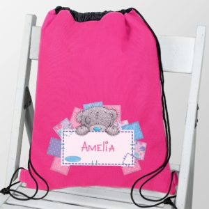 Me To You Pink Swim & Kit Bag