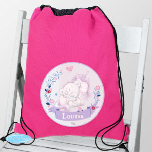 Tiny Tatty Teddy Unicorn Swim & School Bag
