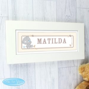 Tiny Tatty Teddy Name Frame
