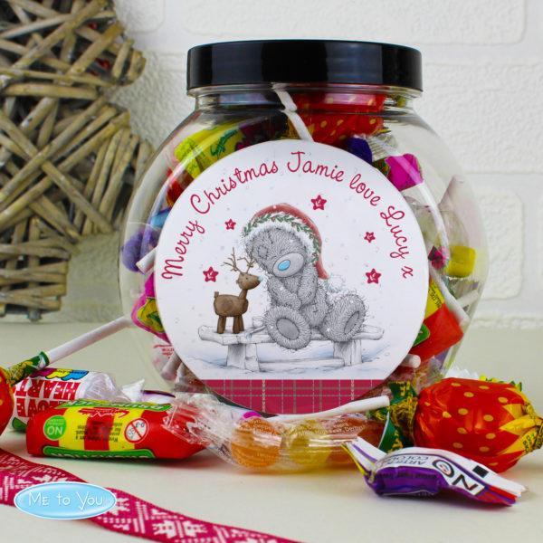 Me To You Reindeer Sweet Jar