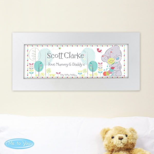 Tiny Tatty Teddy Cuddle Bug Name Frame