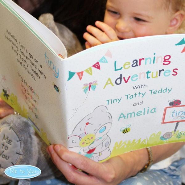 Tiny Tatty Teddy Learning Adventure Book