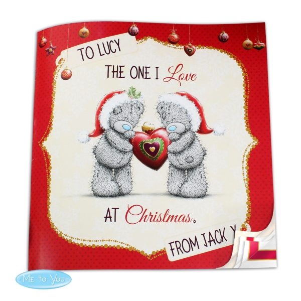 Me to You The One I Love at Christmas Book