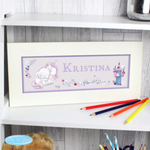 Tiny Tatty Teddy Unicorn Name Frame