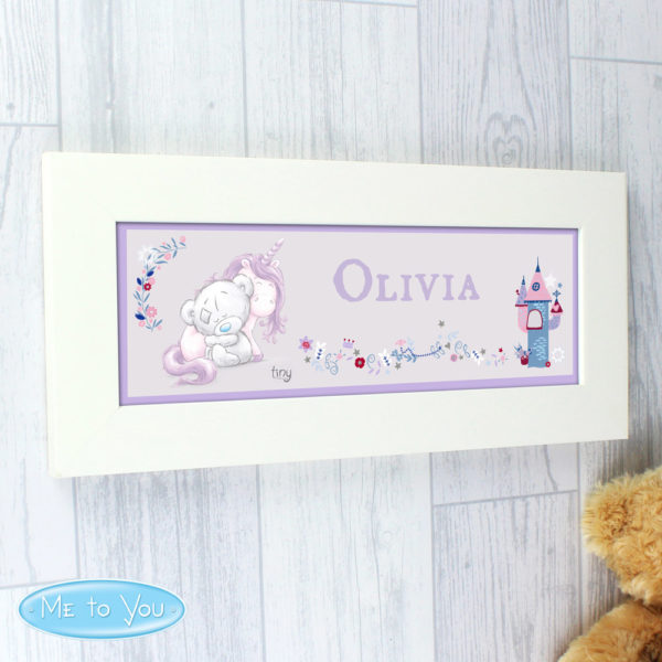 Tiny Tatty Teddy Unicorn Name Frame