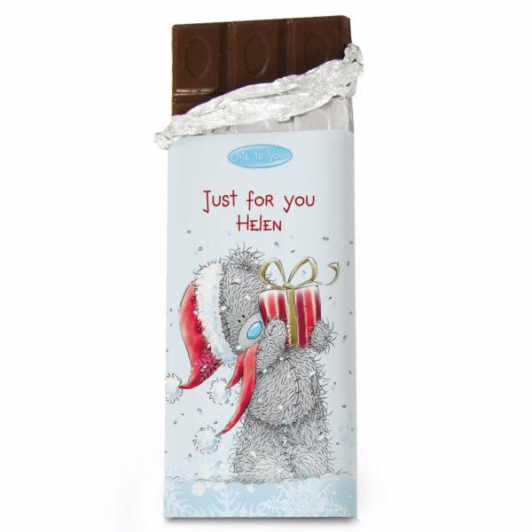 Me To You Christmas Milk Chocolate Bar