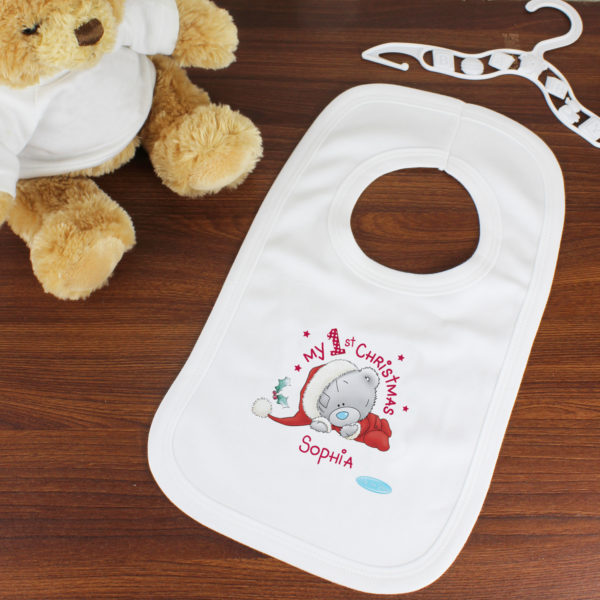 Me To You My 1st Christmas Bib