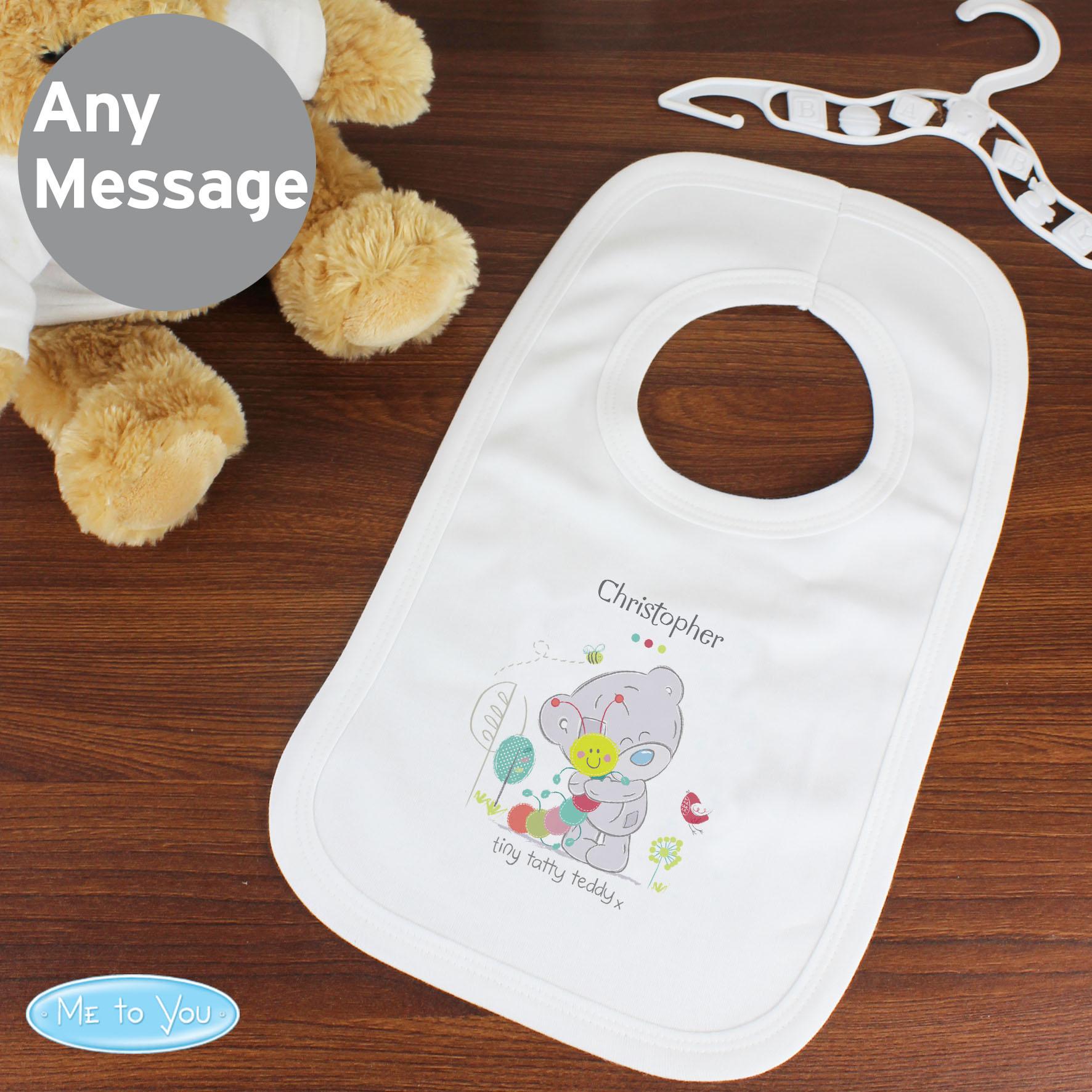 Tiny Tatty Teddy Cuddle Bug 0-3 Months Baby Bib