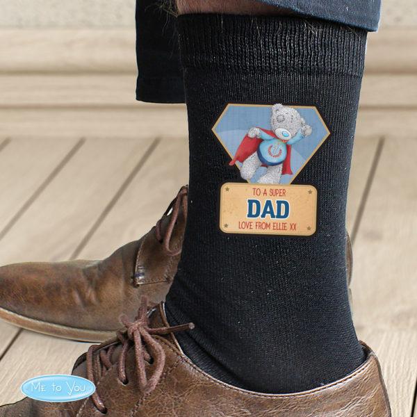 Me To You Super Hero Mens Socks