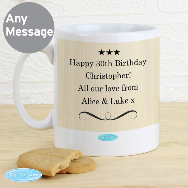 Me To You Typographic Mug
