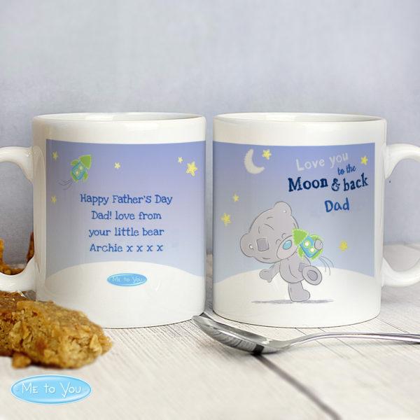 Tiny Tatty Teddy To the Moon & Back Mug