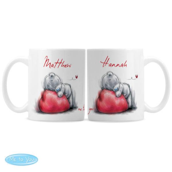 Me To You Heart Mug Set