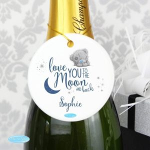 Me to You 'Love You to the Moon and Back' Round Decoration