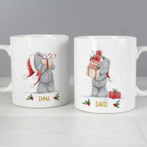 Me to You Christmas Couple's Mug Set