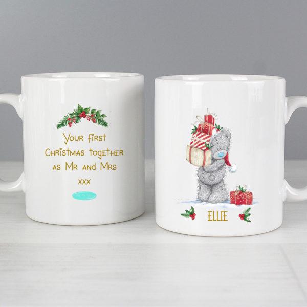 Me to You Christmas Couple's Mug Set