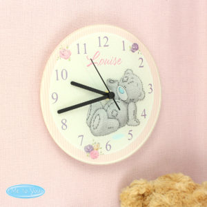 Me To You Glass Clock